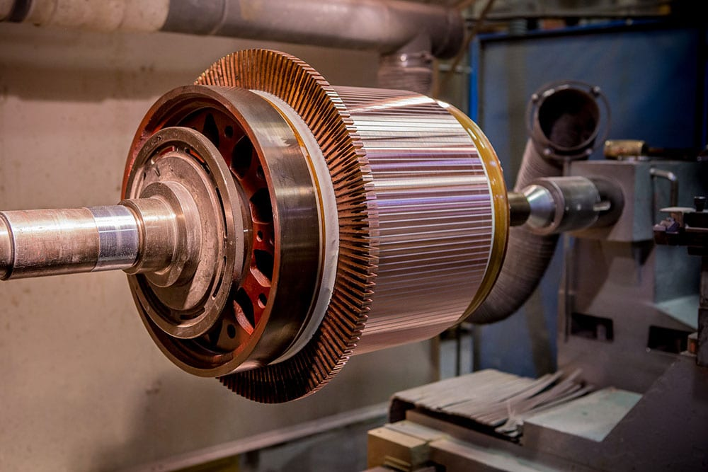 Commutator Production Process