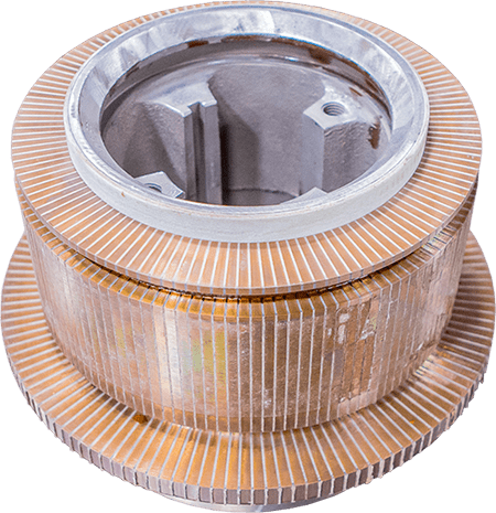 glassband commutator