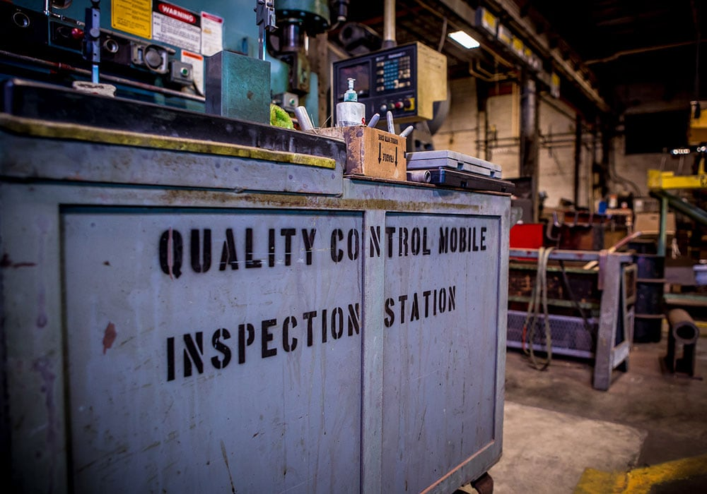 Quality Control Mobile Inspection Station