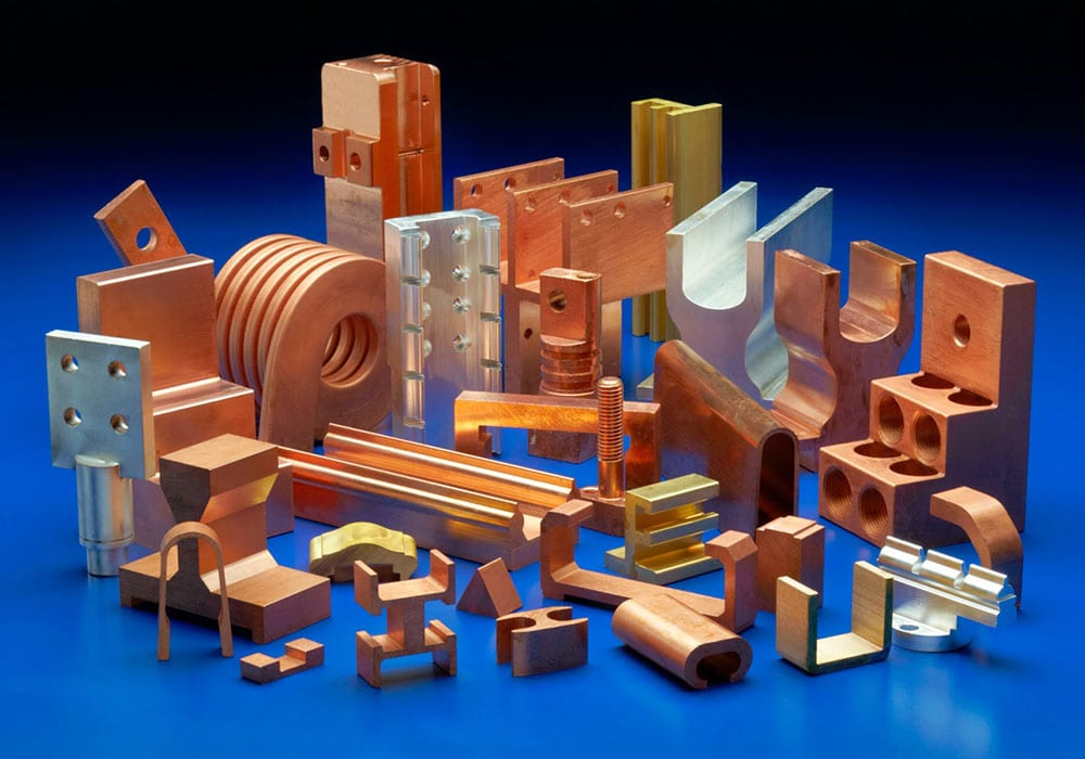 Copper Extruded Components